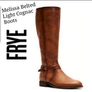 Extended Calf Frye Melissa Belted Tall Boots
